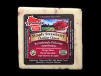 Simply Strawberry Cheddar Cheese