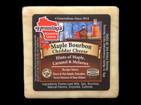 Maple Bourbon Cheddar Cheese