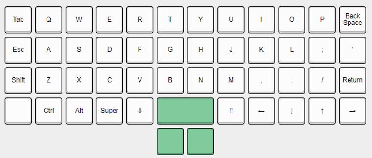 Pancake Keyboard Kit