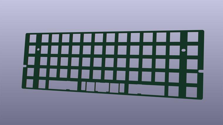Boardwalk F4 Switchplate - Hybrid Hotswap - 60%