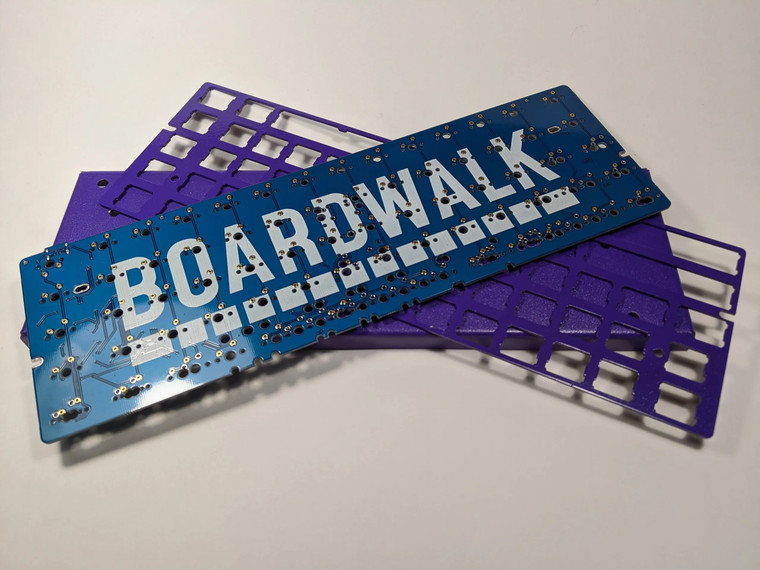 Campine mk. I X Boardwalk barebones keyboard kit