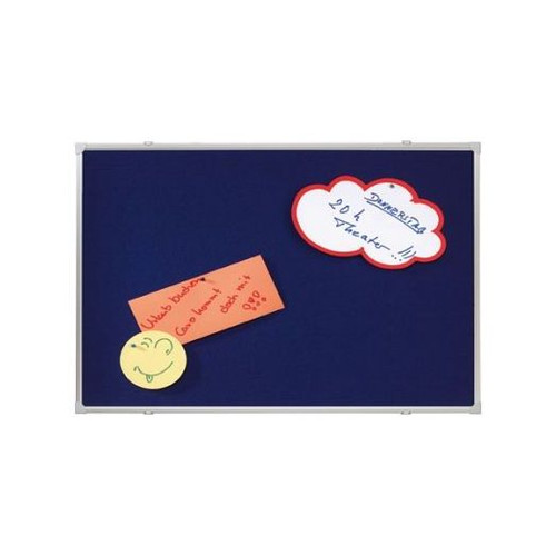 blue notice boards 120 x 120 cm
