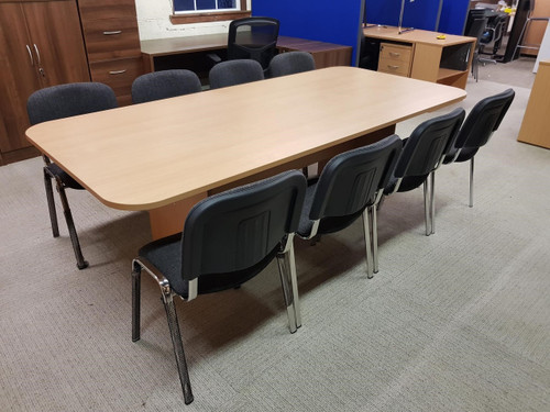 Beech Boardroom table