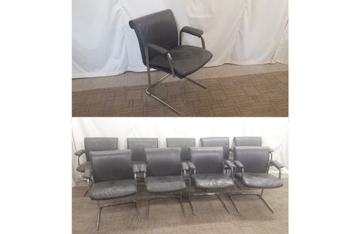 9 x Boss Cantilever Chairs meath