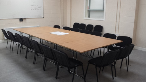 Beech conference folding tables