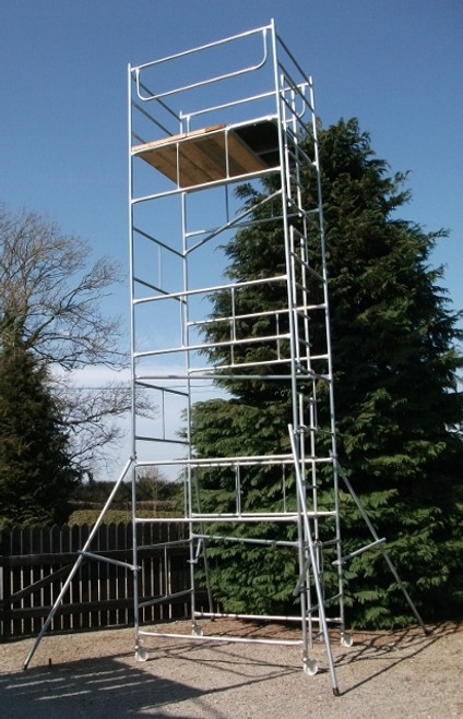 6' x 4' x 24' scaffold tower