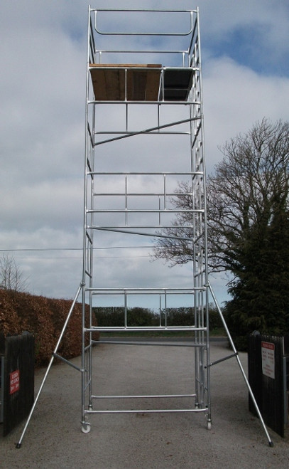 6' x 6' x 34' scaffold tower