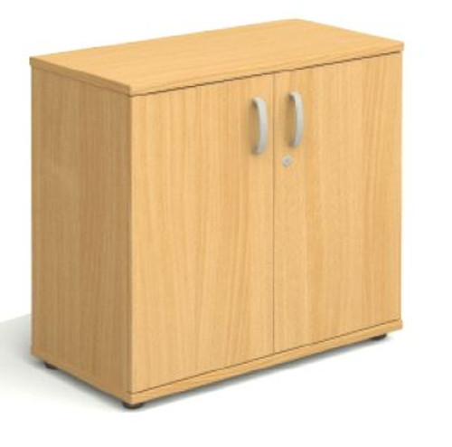2 door beech storage cupboard