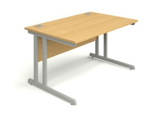 Beech office desk 1200 x 800