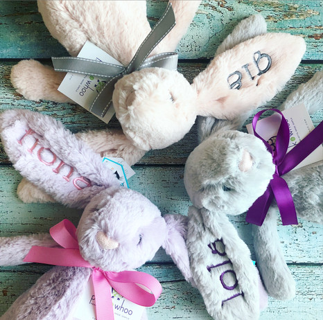 Monogrammed Jellycat Bunny Baby Gifts