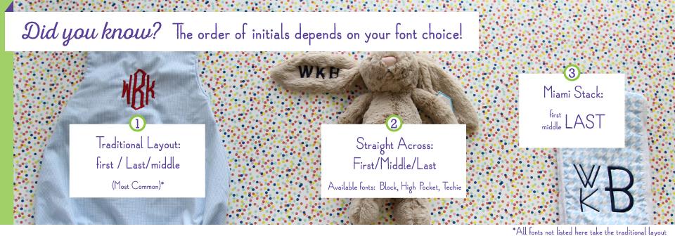 burp cloths how to monogram