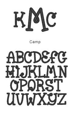 monogram camp
