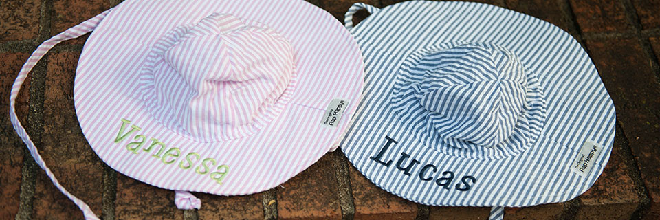 monogrammed baby gifts banner name fonts