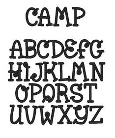 namefonts camp