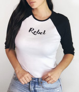 Rebel 3/4 Sleeve Raglan (Women's)