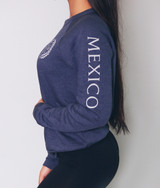 Unisex 'MEXICO' Crest  Sweatshirt