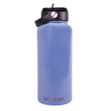 Gray to Blue Water Bottle