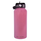 Light Blue to Pink Water Bottle