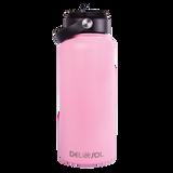 Pink to Dark Pink Water Bottle