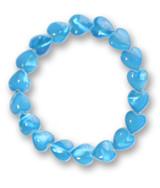 Blue Heart Shell Bracelet