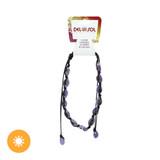 Purple Cowrie Necklace