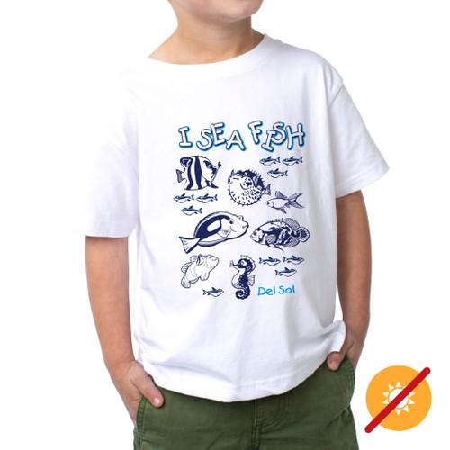 Junior Crew - I Sea Fish - White