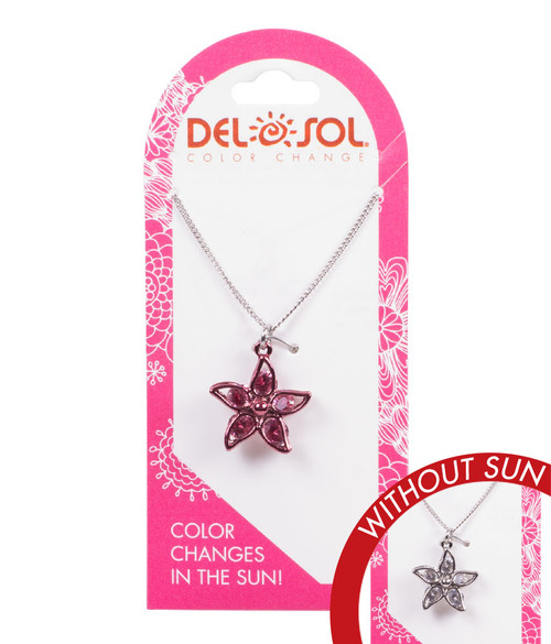 Color-Changing Necklace - Plumeria