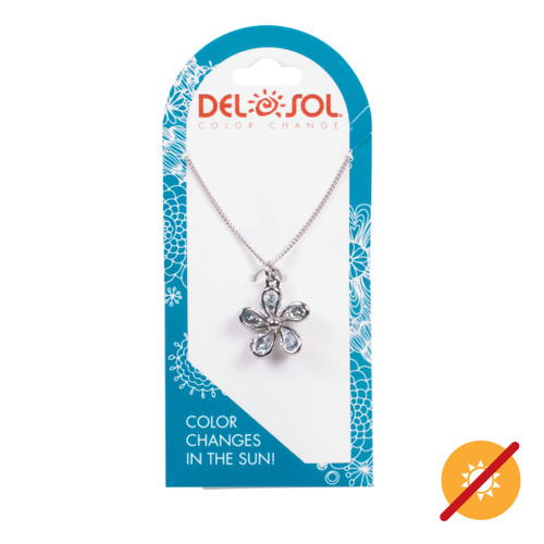 Color-Changing Necklace - Daisy