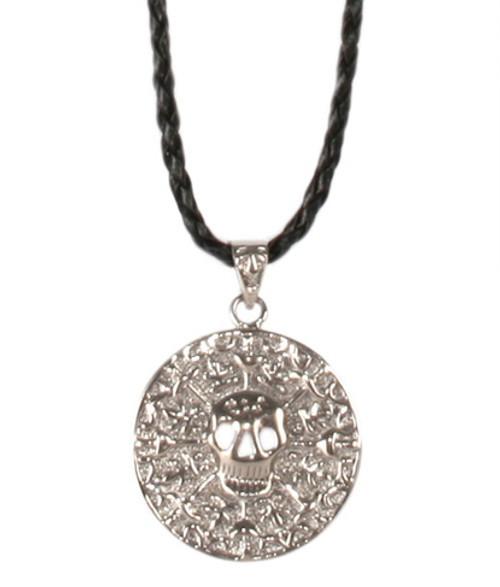 Color-Changing Necklace - Pirate Medallion