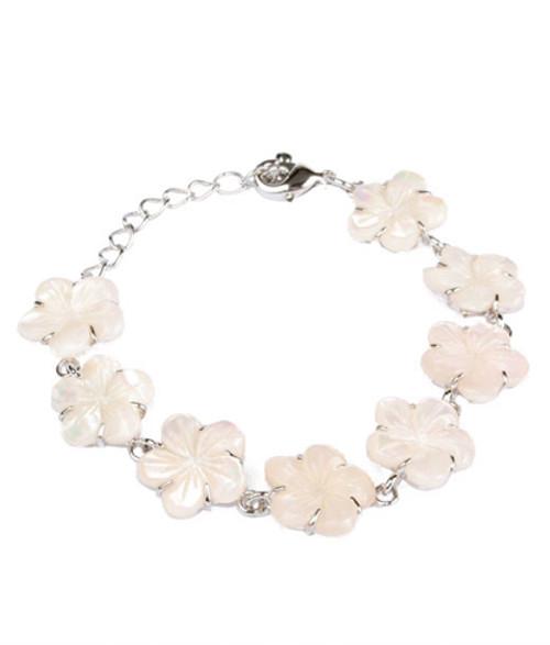 Color-Changing Bracelet - Pink Flower Shell