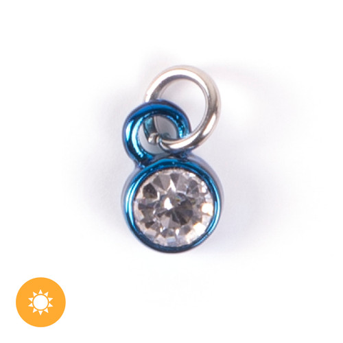 Color-Changing Charm - April Birthstone