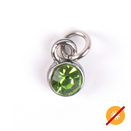 Color-Changing Charm - August Birthstone