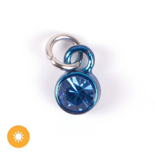 Color-Changing Charm - September Birthstone