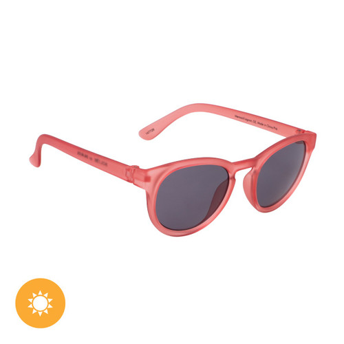 Kid's Solize Sunglasses - Mermaid Lagoon - Frosted Clear to Peach