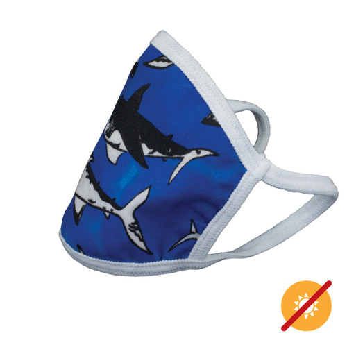 Color-Changing Face Mask - Shark - Youth
