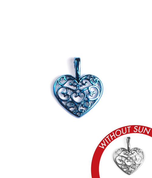 Color-Changing Charm - Ornate Heart