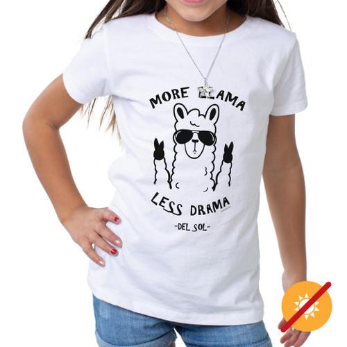 Youth Crew Tee - More Llama