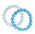 Color-Changing Bracelet - Blue Heart Shell