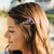 Glitter Butterfly and Flowers Hair Prongs
