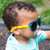 Kid's Solize Sunglasses - Boys of Summer - Frosted Clear to Blue