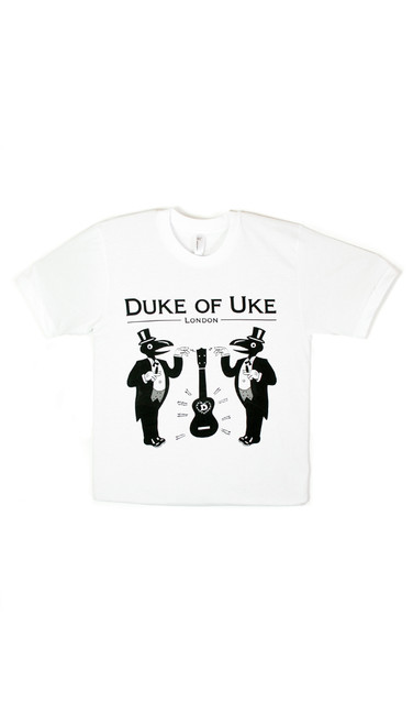 Duke Of Uke White T-Shirt