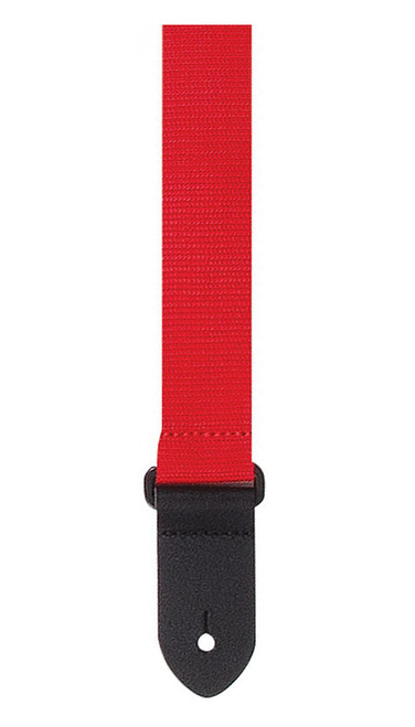 Perris Red Woven Ukulele Strap