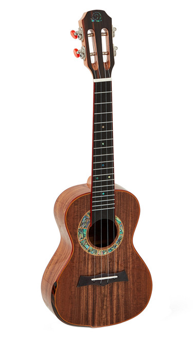 Snail S60C Solid Flamed Acacia Concert Ukulele