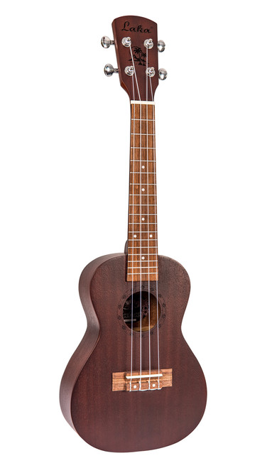 Laka VUC5CH Chocolate Entry Level Concert Ukulele Starter Pack