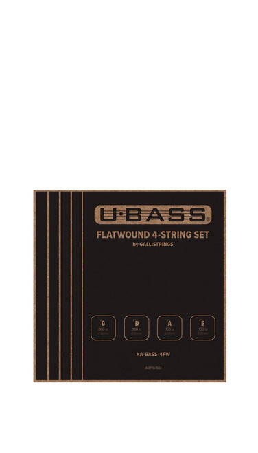 Kala KA-BASS-4FW Flatwound U-Bass Strings