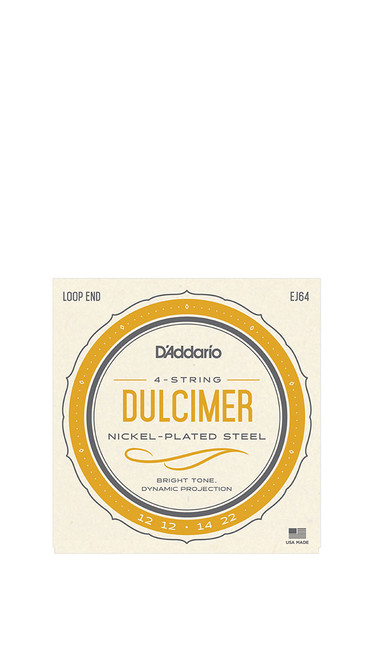 Daddario Nickel Wound 4 String Dulcimer Strings
