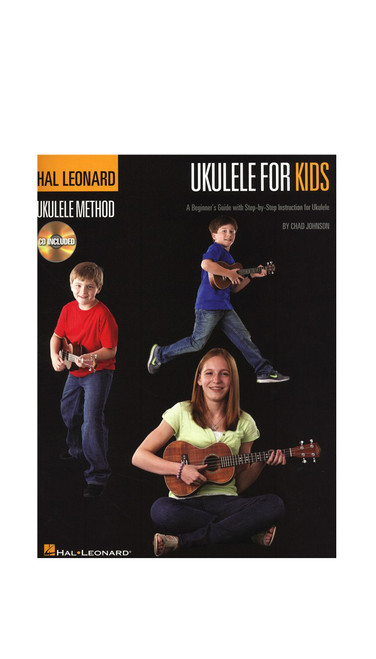 Hal Leonard Ukulele For Kids Ukulele Method Book