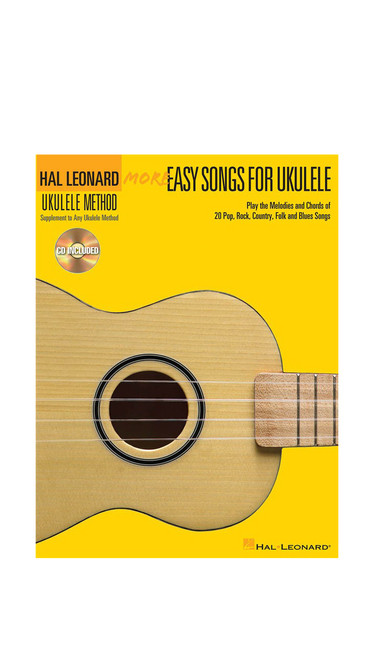Hal Leonard More Easy Songs for Ukulele