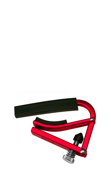 Shubb L1 Lite Red Steel String Guitar Capo