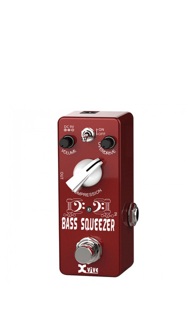 Xvive XB1 Bass Squeezer Pedal by Jamie Mallender